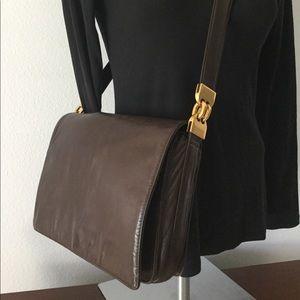 🆕 Vintage Perlina Crossbody Messenger Leather Bag